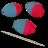Jaydacators™ - Blue/Pink - Small