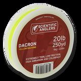 Scientific Anglers Dacron Backing - Yellow