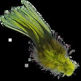 UV2 Coq De Leon Fire Tail Feathers - Fl. Chartreuse