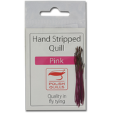 Stripped Peacock Quills - Pink
