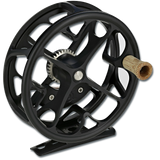 Ross Colorado Fly Reel - Matte Black (front)