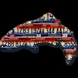 Idaho Trout License Plate Art