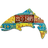 New Mexico Trout License Plate Art