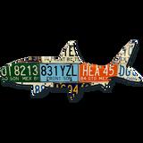 Mexico Bonefish License Plate Art
