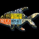 Mexico Permit License Plate Art