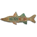 Florida Snook License Plate Art