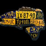 New York Largemouth Bass License Plate Art