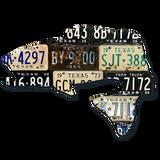 Texas Largemouth Bass License Plate Art