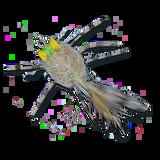ESB Yellow Eye Raghead Crab - Tan