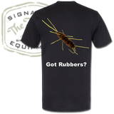 "The Fly Shop's ""Got Rubbers?"" T-Shirt - Back"