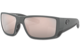 Blackfin Pro Polarized Glass 580 Sunglasses - Matte Gray/Copper Silver Lightwave Glass