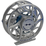 Hatch Iconic Fly Reels - Clear/Blue (Back)