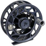 Hatch Iconic Fly Reels - Gray/Black (Front)