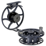 Hatch Iconic Fly Reels - Gray/Black (Frame & Spool)