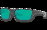 Whitetip Polarized Glass 580 Sunglasses - Blackout/Green Lightwave Glass