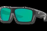 Bloke Polarized Glass 580 Sunglasses - Black/Green Lightwave Glass