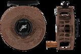 Abel SDF Series Reels - Underwood Graphic - Brown