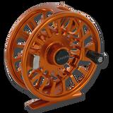 Galvan Torque Fly Reels - Burnt Orange (Front)