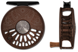 Abel TR Series Reels - Underwood Graphic - Dark Brown