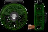 Abel Vaya Series Reels - Underwood Graphic - Deep Green