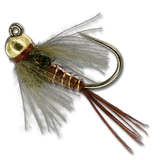 Tungsten Bead Jigged Pheasant Tail (PT)