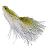 Articulated Smolt - Olive/White #6