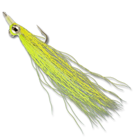 Freshwater Clousers - Chartreuse/Yellow #6