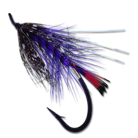 Hartwick's Steelhead Soft Hackle - Purple #6