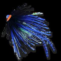 Stu's Griz Turbo Tube - Blue/Black