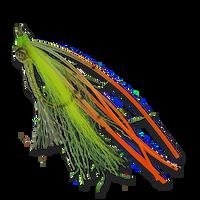 Beck's Lead Eye Sili-Legs - Chartreuse #6