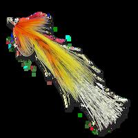 Flashtail Whistlers - Orange/Yellow #3/0