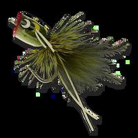 Bass & Bluegill Mini Poppers - Frog #12