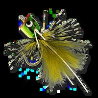 Bass & Bluegill Mini Poppers - Kermit #12