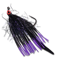 Ehler's Grim Reaper - Black/Purple #3/0