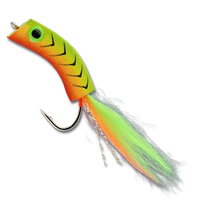 Wiggle Minnow - Fire Tiger #2