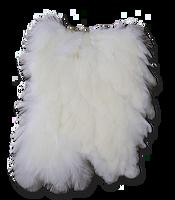 Hen Saddle - White