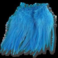 Super Strung Webby Saddle Hackle - Kiingfisher Blue