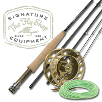 The Fly Shop's Signature Fresh H2O Fly Rod/Reel/Line Outfits - L2a Fly Reel