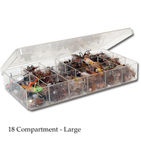 The Fly Shop's Myran Fly Box - Large 18 Compartment