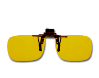 Cocoons Polarized Flip-Ups - Rectangle/Yellow