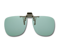 Cocoons Polarized Flip-Ups - Square/Gray