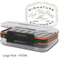 The Fly Shop's Signature Double-Sided Waterproof Fly Box - Large