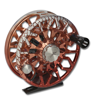 Abel SDS Fly Reel - Redfish (front)