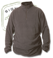 The Fly Shop's Wader Fleece Zip Tops - Grey