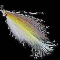 Flashtail Minnow - White/Yellow/Brown