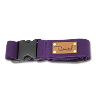 Damsel Fly Fishing Wading Belt - Purple (Plum)
