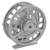 Galvan Rush LT Fly Reel - Clear (Back)