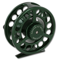 Galvan Rush LT Fly Reel - Green (Back)