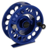Galvan Rush LT Fly Reel - Blue (Front)