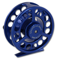 Galvan Rush LT Fly Reel - Blue (Back)